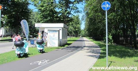 ścieżka rowerowa Władysławowo-Jastrzębia Góra